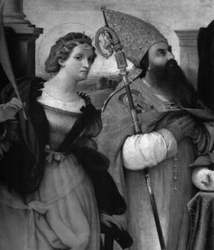 Sts Catherine and Augustine