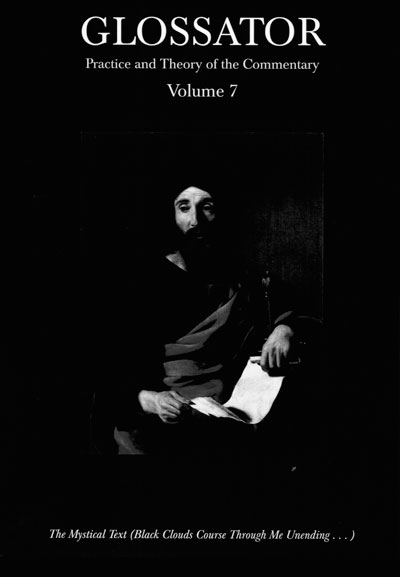 Cover of Glossator journal